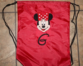 Minnie Mouse nylon bag