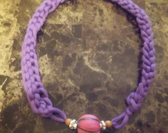 SALE!Crochet knit necklace