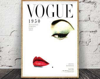 Vogue Fashion Print, Vogue Fashion Illustration, fashion art, fashion wall art, Vogue poster, Vogue magazine cover print, Vogue wall art