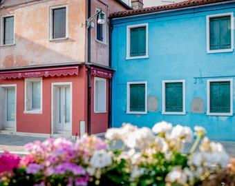 Burano, Italy, Burano Photography, Burano Print, Italy Wall Art, Fine Art Photography, Colourful Wall Art, Home Decor, Italy Photography