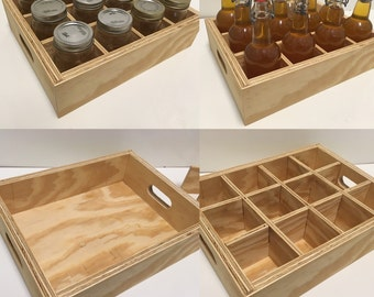 Simple Plywood Canning Crate