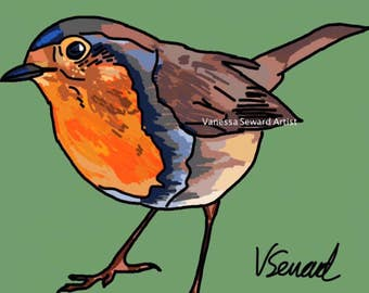 Robin Digital drawing / painting