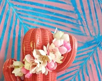 Baby flower crown, halo,  wreath, wedding and flowergirl accessories.