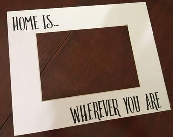 Home Is Wherever You Are - Frame