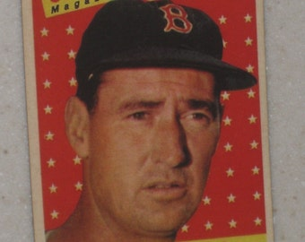 1958 Topps Ted Williams #485