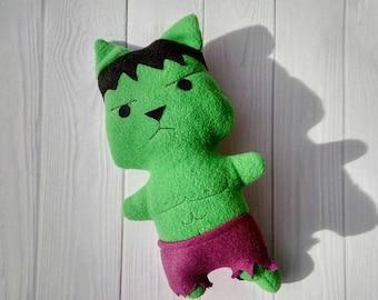 Hulk - the cat doll