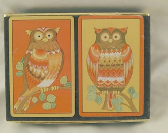 Congress Owl Playing Cards, Double Deck