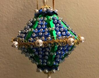 Vintage Christmas Ornament: Holiday Fantasy