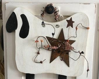 Primitive Sheep/Handmade/Woodcraft/ Rustic Sheep