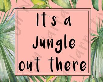 It's a jungle print