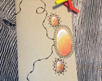 Blank inspirational journal/sketch book