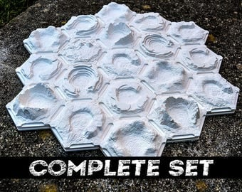 3d Settlers of Catan Set - Plain (3-4 players)