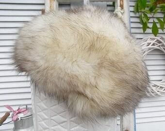Vintage fur Fox Women hat cap