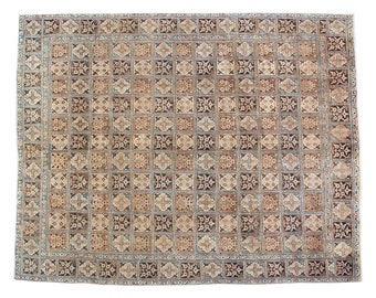 """8'6"""" X 11'4"""" Very Unique Full Pile Persian Rug , Antique Persian Hand Woven Area Rug In Great Condition And Free Shipping Rug S1368"""