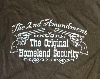 2nd Ammendment The Original Homeland Security
