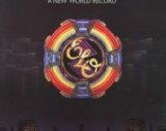 Electric Light Orchestra VG++ vinyl - A New World Record - Original Edition - Lp in VG++ Condition.