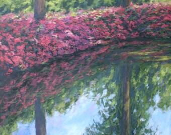Azaleas, Isabella Plantation pond