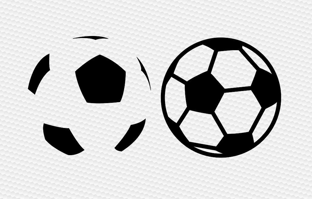 Soccer ball silhouette png