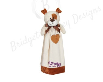 Infant/Toddler Blanket Buddy Puppy, Personalized