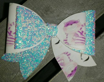 Alice in Wonderland, Cheshire Cat Bow Hair Clip