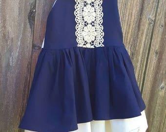 Vintage Look Sailor Dress