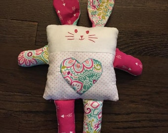 Shabby Chic Stuffed Bunny - for any age!