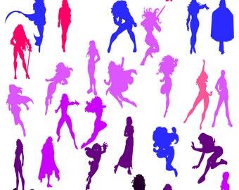 Superhero women svg, super women, boss ladies, lady svg, feminine svg, svg cut file,cricut svg,Wonderwoman