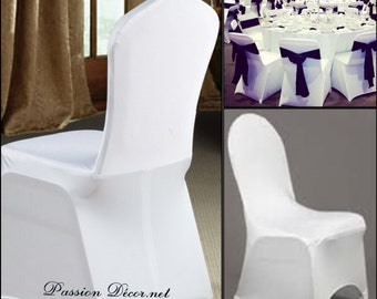 Lot of 50 modern style spandex lycra chair covers