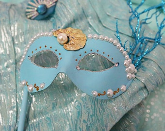 Little Mermaid Inspired Mask