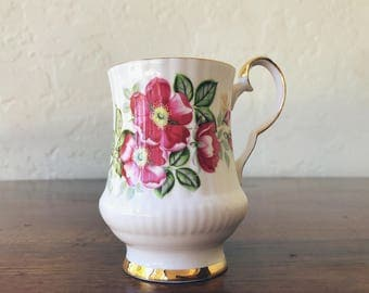 Vintage Royal Windsor The Wild Rose Mug