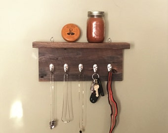 Barn Board Key/Jewelry/Leash Holder