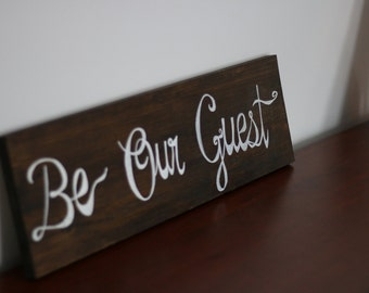 Be Our Guest-Wall Decor