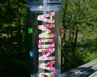 Custom Mom | Mama | Grandma | Mother | Nana | Mimi | skinny tumbler