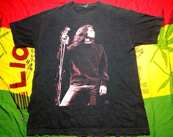 RARE!!! Vintage 1994 Jim Morrison The Doors T-Shirt Light My Fire Black 90s sz XL
