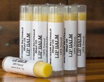All Natural Lip Balm - net wt 0.15 oz.