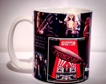 Led Zeppelin coffee mug Tribute