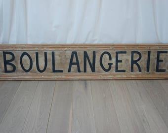 Handpainted Boulangerie Sign