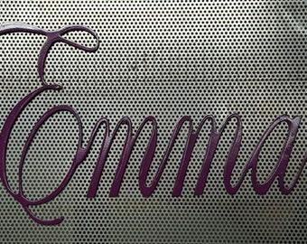 Custom Name Sign, Nursery Decor, Baby Name Wall Art