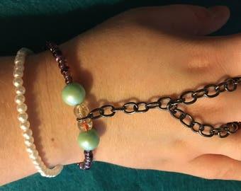 Double Strand Multicolor Slave Bracelet