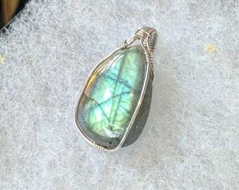 Mystical Labradorite pendant