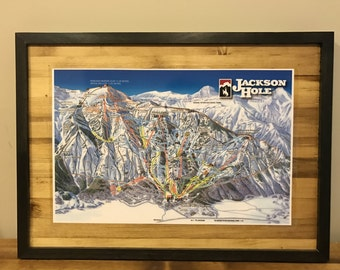 Jackson Hole Mountain Resort - Winter Trail Map