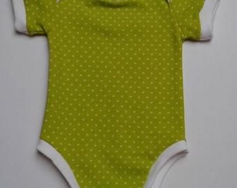 Dots baby onesie - Babysuit size 56