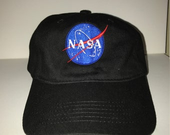 NEW NASA Baseball Hat Dad Hat Adjustable back strap Unisex Dad Hats Embroidered Dad Hat Dad Cap