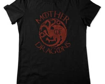 Mother Of Dragons Shirt Game of Thrones Womens Shirt Unisex Available in Adult & Youth Sizes