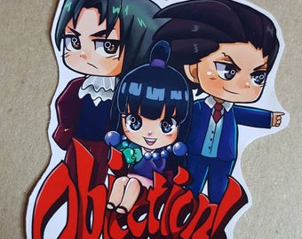 Objection Laptop decal sticker