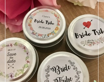 50 wedding favour cadles / Soy wax/ Wedding gift / Custom favour / Baby shower gift / Bomboniere