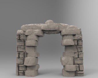 Stone Dungeon Archway