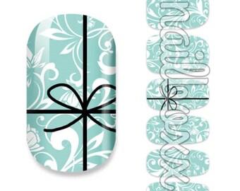 12 nail wraps nail foils nail foil sticker sticker finger nail art flower flower ornament ribbon * new *.