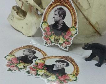BBC Sherlock - Cameo Sticker Set