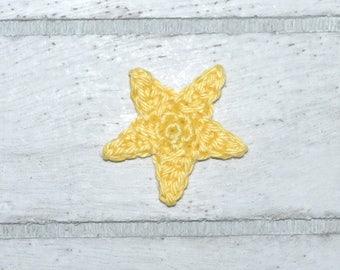1 star small - application - crochet - star